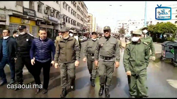 بالفيديو : عامل بن امسيك يواصل تعقيم الشوارع والأحياء بتراب العمالة