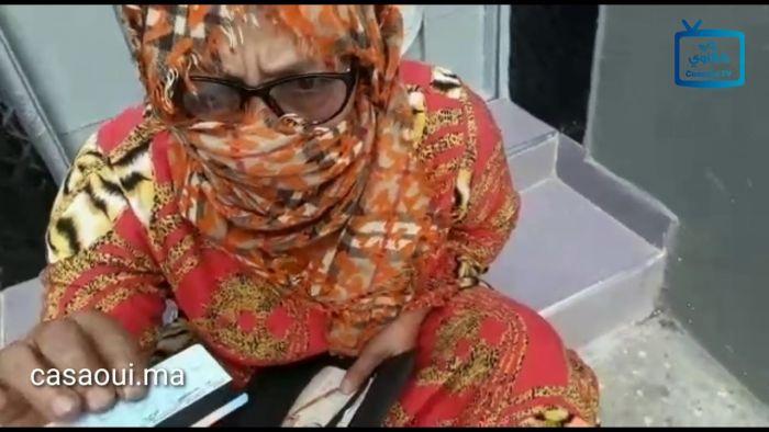 بالفيديو:  طرد امرأة مسنة بدار لمان بالحي المحمدي لعجزها عن أداء ثمن كراء الغرفة التي تقطنها