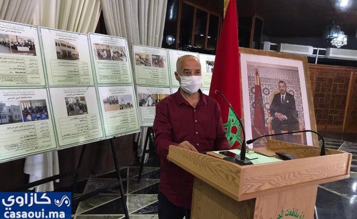عمالة الحي الحسني تنخرط في المجهود الوطني للتخفيف من اثار الجائحة