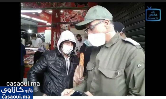 بالفيديو: قائد ملحقة الليمون  بالألفة في حملة لفرض احترام حالة الطوارئ الصحية