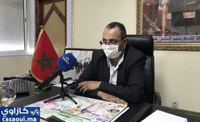 بالفيديو : معايط في حوار شامل حول تدابير مقاطعة سيدي عثمان لمواجهة كورونا