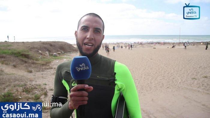 فيديو : هواة الامواج يتنفسون الصعداء بعد فتح الشواطئ