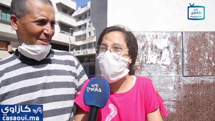 بالفيديو : كازاوي ترصد اراء البيضاويين حول التخفيف من الحجر الصحي