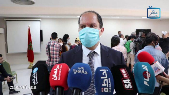 عبد المومن طالب : امتحانات البكالوريا انطلقت و سط إجراءات احتياطية و احترازية