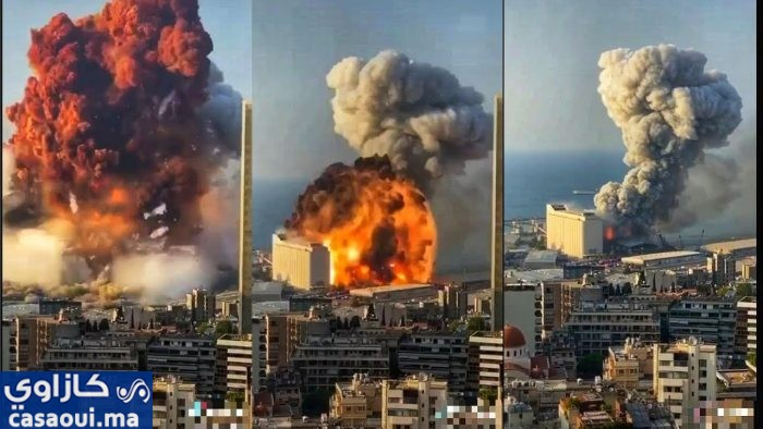 بالفيديو: انفجار بيروت