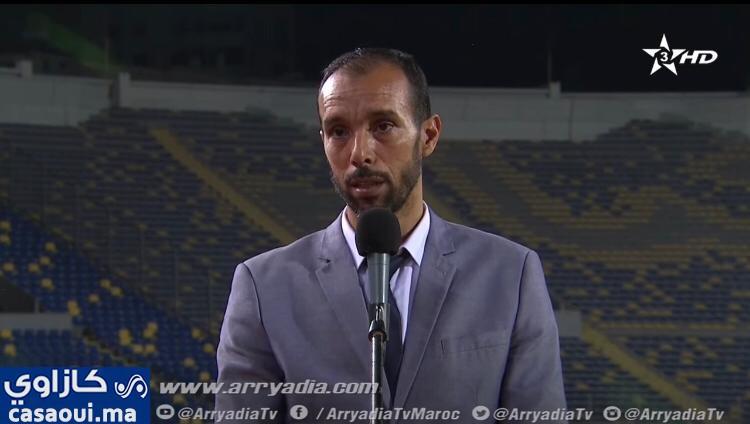 """طارق شهاب: """" مباراة الديربي أبانت عن بوادر تبشر بالخير""""."""