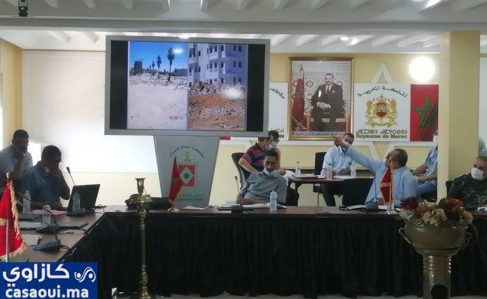 كورونا ترخي بظلالها على دورة مجلس مقاطعة سيدي عثمان ( فيديو)