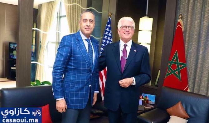 تعزيز العلاقات الأمنية بين المغرب والولايات المتحدة الأمريكية