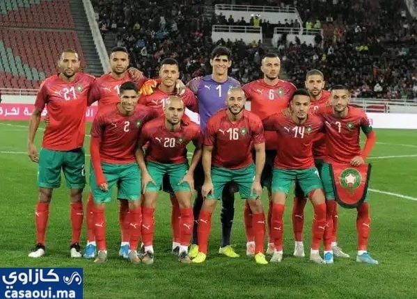 المنتخب المغربي يرتقي 4 مراكز