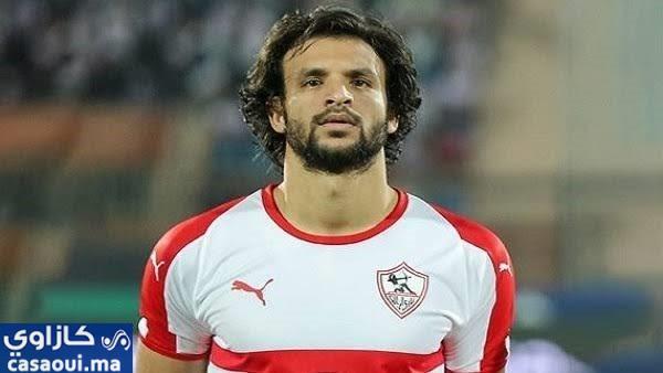 محمود علاء غائب عن مواجهة الرجاء