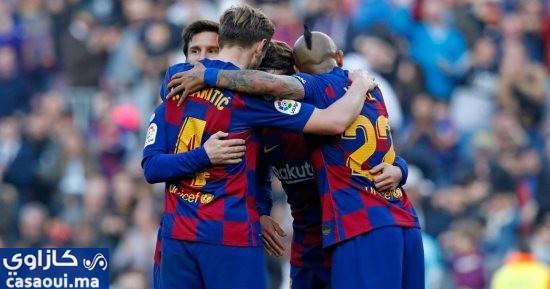 برشلونة يتذوق طعم الهزيمة في الدوري الإسباني