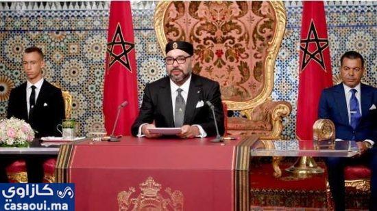 نص الخطاب الملكي بمناسبة افتتاح آخر سنة تشريعية