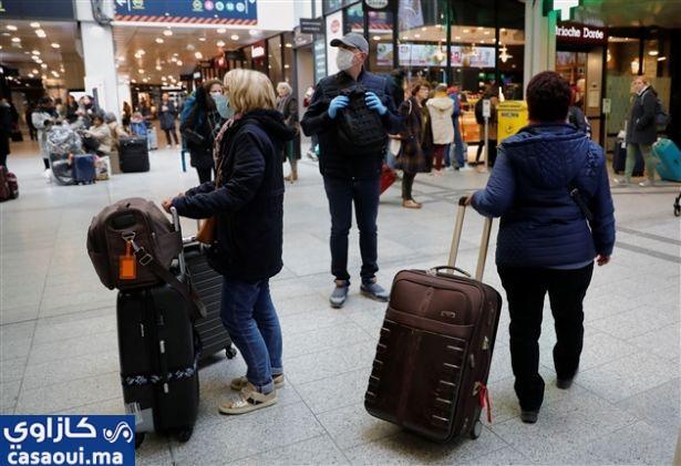 فرنسا تغلق حدودها أمام الدول غير الأوروبية باستثناء الرحلات الضرورية