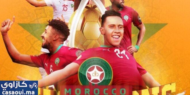 المنتخب المغربي يتوج بلقب بطولة أفريقيا للاعبين المحليين بعد فوزه على مالي