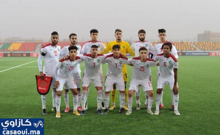 كأس أمم أفريقيا للشباب: المنتخب المغربي يهزم المنتخب الغامبي