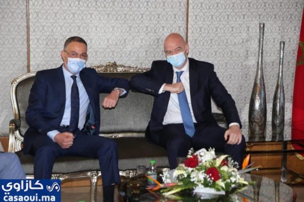رئيس الفيفا يحل بالمغرب
