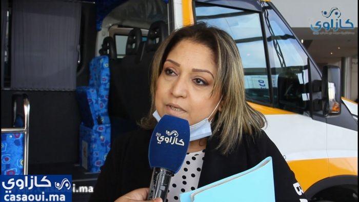 مجلس عمالة الدار البيضاء يواصل توزيع حافلات النقل  المدرسي