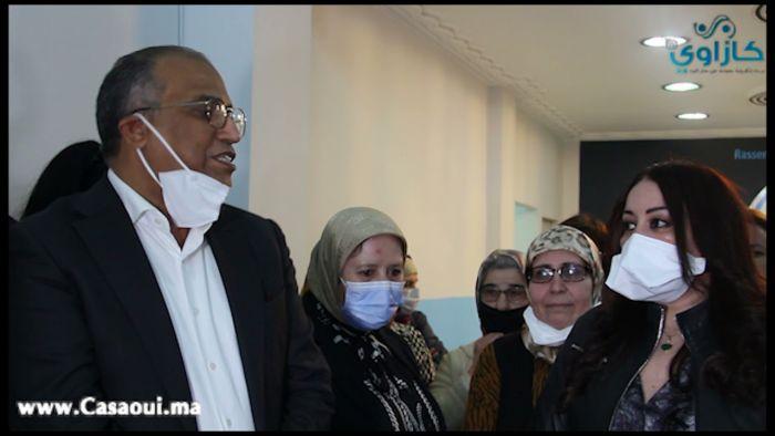 بالفيديو:حزب الحمامة يفتح مقرا جديدا بحي لمعاريف