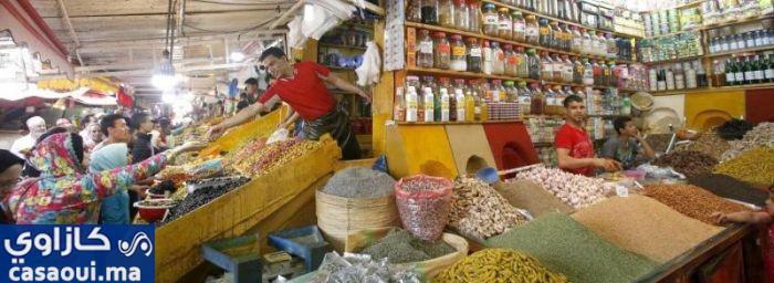 تجارة المكسرات والتوابل تشهد ازدهارا كبيرا قبل شهر رمضان
