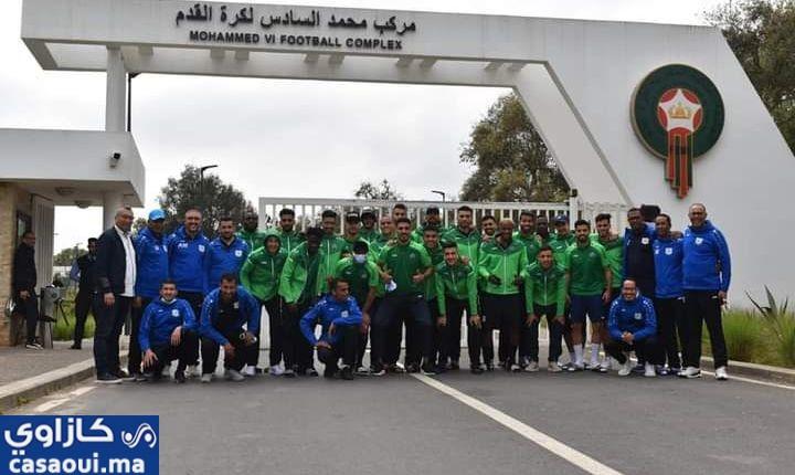 فريق الدفاع الجديدي يحل بمركز محمد السادس لكرة القدم
