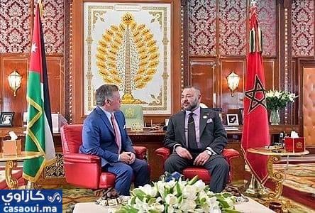 محمد السادس يهاتف ملك الأردن