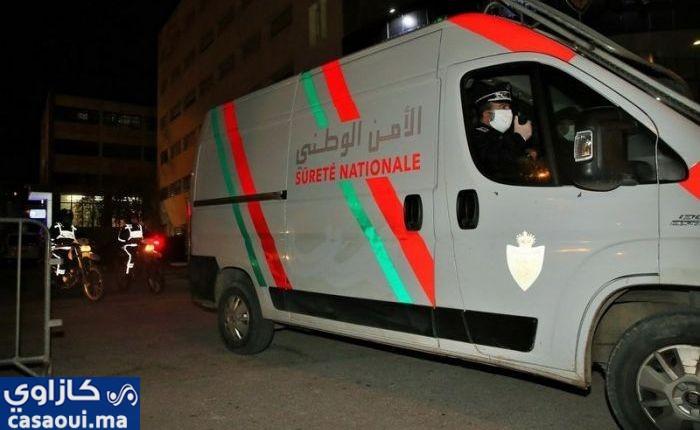 قاصرون بسيدي مومن يخرقون الحظر الليلي و يتمردون على عناصر الأمن