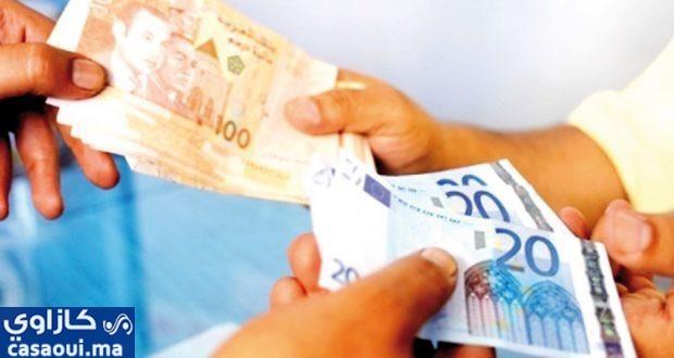 ارتفاع قيمة الدرهم مقابل الأورو ب 0,5 في المائة ما بين 29 أبريل و5 ماي
