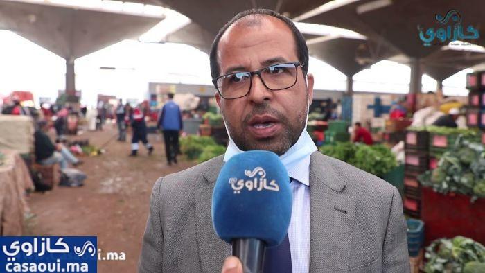 بالفيديو:حملة نظافة بسوق الجملة الخضراء والفواكه بالدار البيضاء