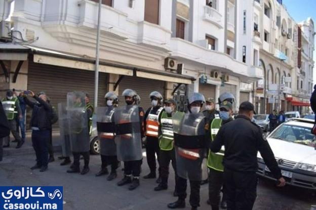 الدار البيضاء : السلطات تمنع وقفة تضامنية مع عمر الراضي وسليمان الريسوني