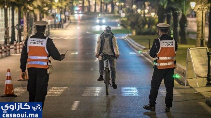 العثماني : استمرارية حظر التجول الليلي و تشديد التنقل بين المدن خلال ايام العيد.
