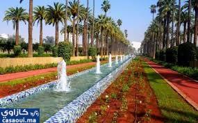الدار البيضاء :حديقة الجامعة العربية  تفتح أبوابهافي وجه العموم
