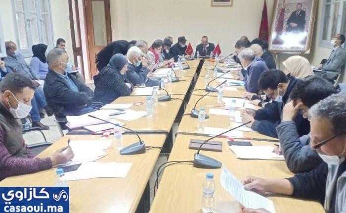 المجلس الجماعي لبوسكورة يصادق على جدول أعمال دورة شهر ماي ويضع وادي بوسكورة ضمن أولوياته