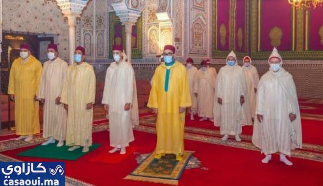 الملك محمد السادس يحيي شعائر ليلة القدر بفاس