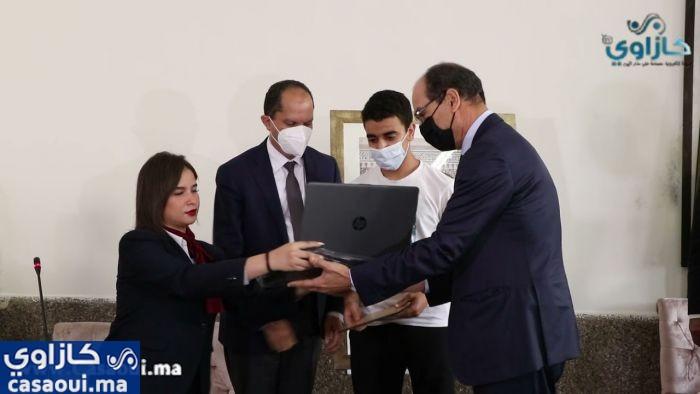 بالفيديو:الاحتفاء بطلبة الأقسام التحضيرية بثانوية محمد الخامس بالدارالبيضاء