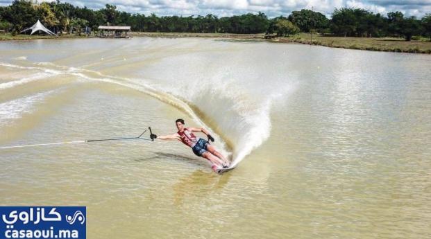 بلمراح يفوز بالميدالية الفضيةفي بطولة العالم للتزحلق على الماء بالولايات المتحدة الأمريكية