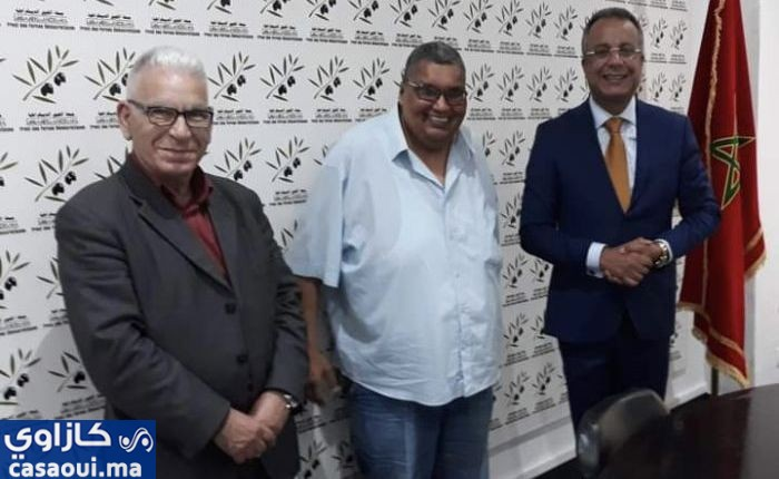 عبد الحق المبشور يحط الرحال بجبهة القوى الديمقراطية.
