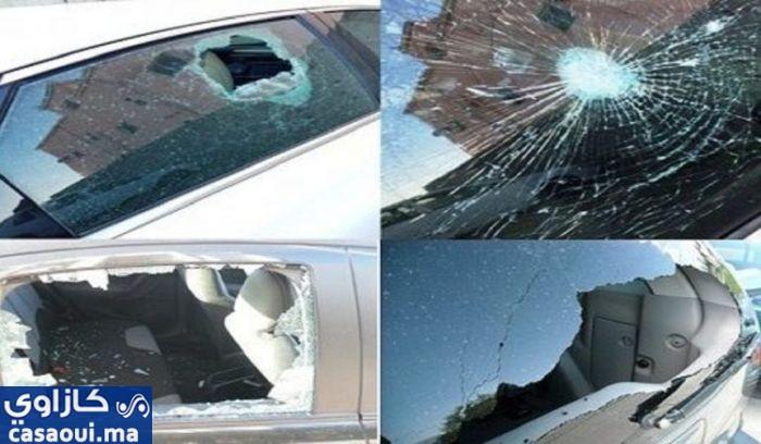 اعتقال ستة أشخاص خربوا مجموعة من السيارات بالدار البيضاء