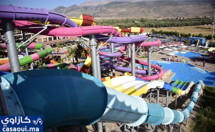 بني ملال:افتتاح منتزه مائي سياحي (DINOLAND ,Aqua park)
