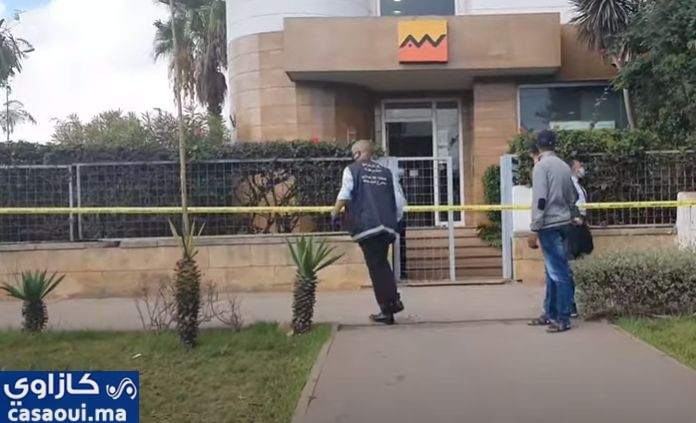بالصور.. محاولة فاشلة لسرقة وكالة بنكية بحي مولاي رشيد