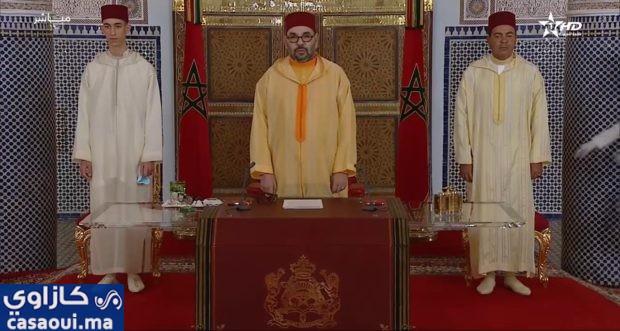 جلالة الملك يشيد بالتنظيم الجيد للإنتخابات
