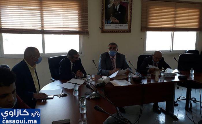 مجلس جماعة أولاد صالح بالنواصر يصادق بالإجماع على القانون الداخلي