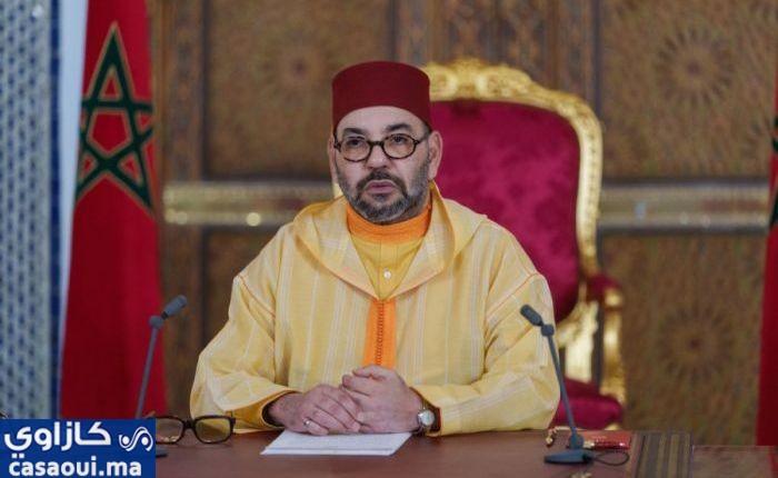 جلالة الملك يهنئ رئيس مجلس المستشارين
